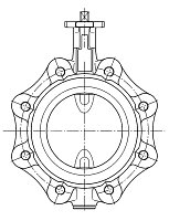 AW 193 Butterfly Valve, lug type