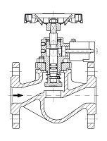 AW 33014 Quick-closing Valve, springloaded, straight pattern, hydr./pn. operation