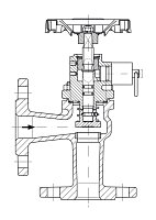 AW 33304 Quick-closing Valve, springloaded, angle pattern, manual operation