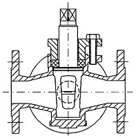 AW 474 Flanged Three-way Gland Cock